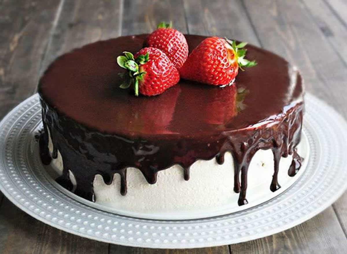 каждой торты фото шоколадная глазурь этого момента