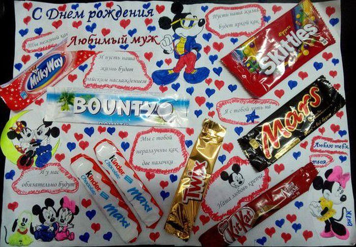 Шоколад для оформления плаката