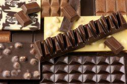 сколько грам в плитке шоколада
