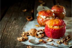 Запечные яблоки