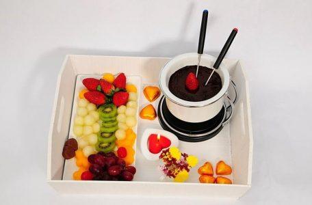 фрукты для шоколадного фондю