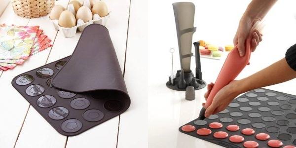 шоколадная выпечка - макаруны