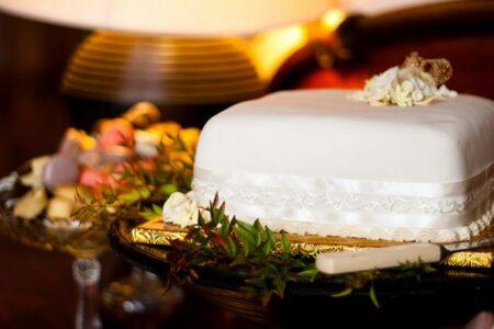 свадебные торты одноярусные