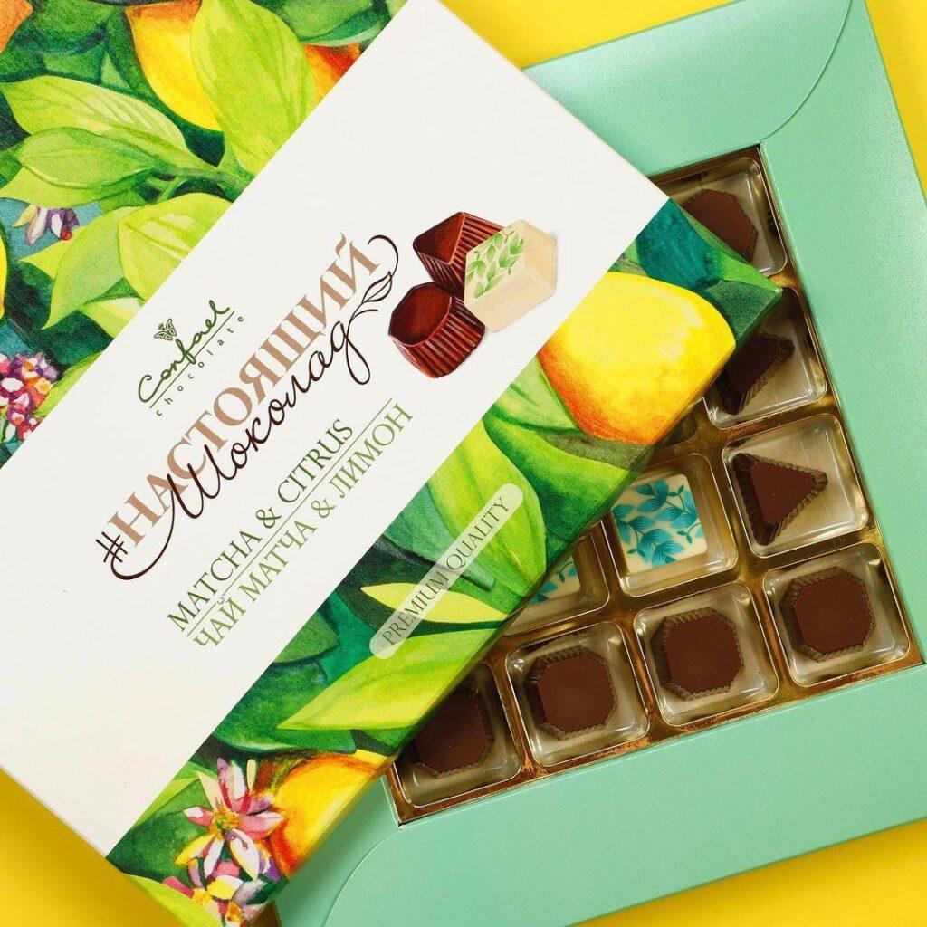 Шоколад от фабрики Конфаэль